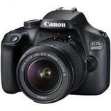 Cámara Canon EOS 4000D (18-55mm+75-300mm)