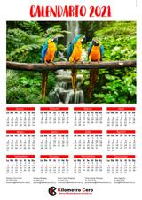 Calendario con imán